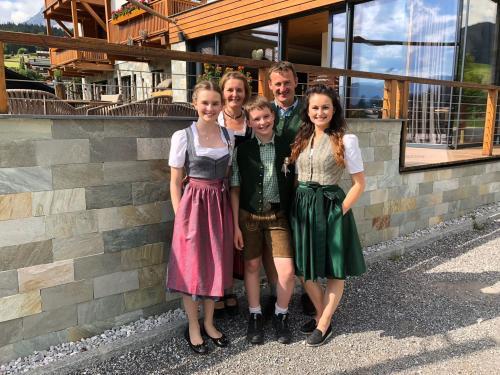 Das sind wir - die Stöckl's vom Oberhaslinghof!