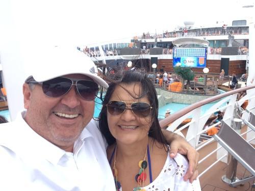 Silvia Helena e Carlos Eduardo
