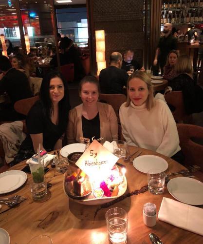 Tina, Sandra & Sarah