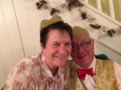 Peter and Joan Clarke