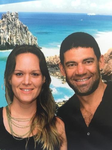 Natalie Brussolo e Ivan Costa - Proprietários